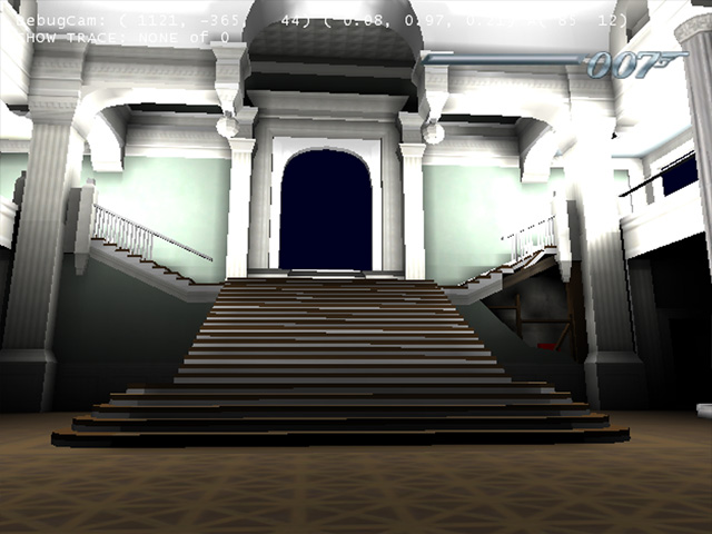 Faded Splendor  -  The Grand Stair Case     Development