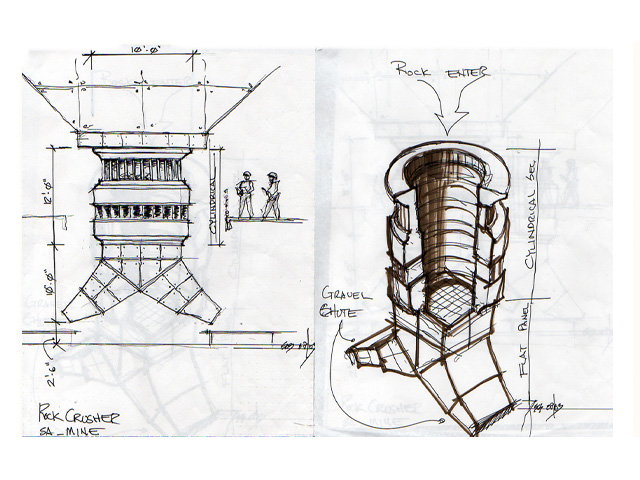 Diavolo's Plan  -  Detail Design