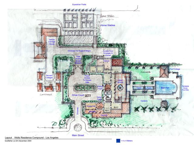 Woltz Residence  -  Main Floor Plan