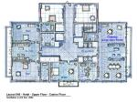 Grand Hotel  -  Upper Floor Plan     Layout Design