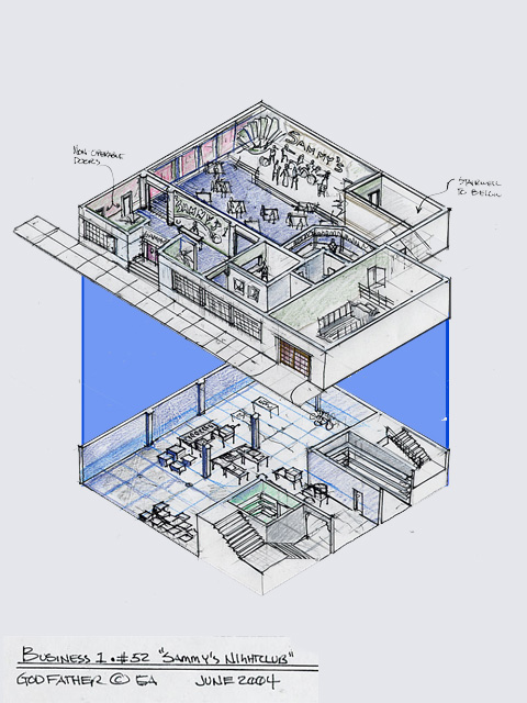 Night Club  -  Layout Design