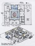 Police Station  -  Layout Interior Design