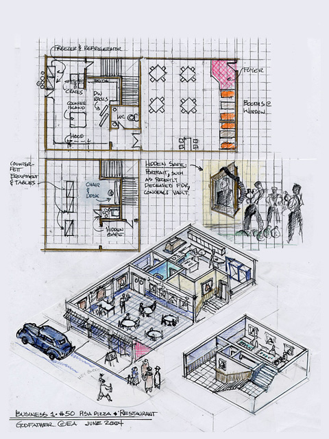 Restaurant design layout best layout room for Restaurant layout