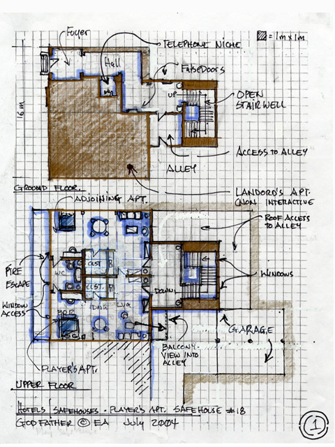 Safe House  -  Layout Design