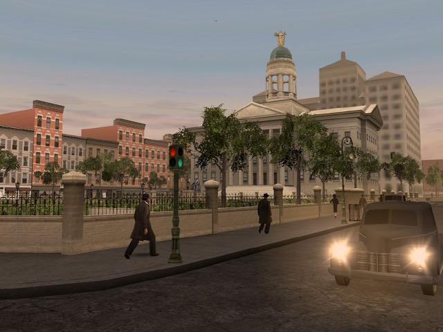 Brooklyn City Hall  -  In Game View