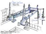 Lincoln Tunnel Plaza  -  Layout Design