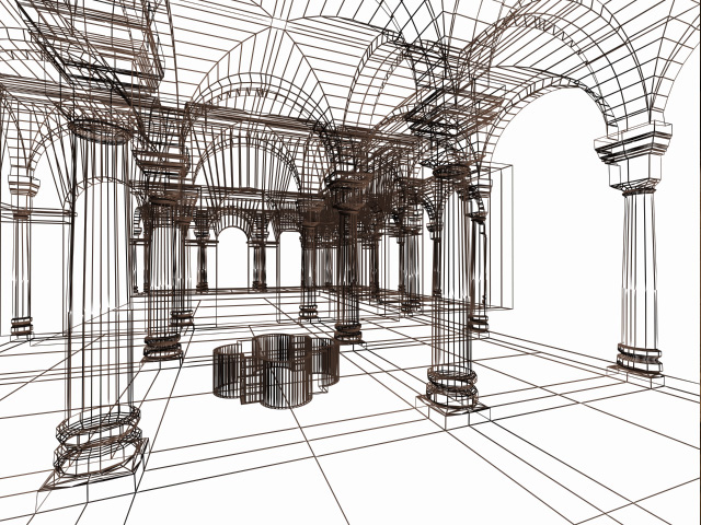 Wireframe View  -  Max