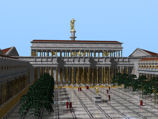 The Roman Forum  -  Lightwave
