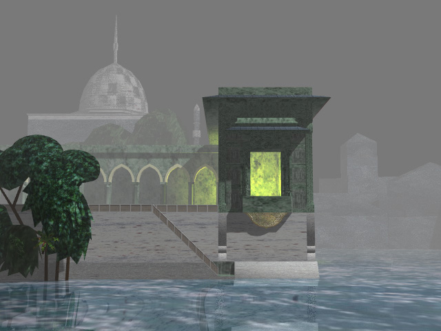 Water Palace  -  Lightwave