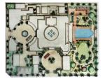 Palace Design  -  Schematic Design of Site Plan