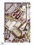 School Campus  -  Schematic Design of Site Plan