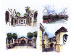 Sketch Details of School Campus   -  Architectural Design Study