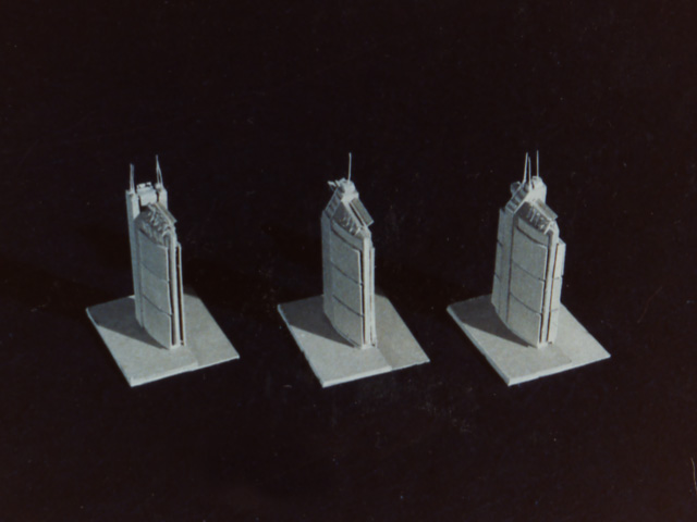 High Rise Massing Design  -  Study Models